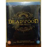 Box Blu Ray Deadwood A Coleção Completa Lacrado 9 Discos