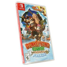 Jogo Midia Fisica Switch Donkey Kong Country Tropical Freeze