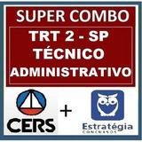 Combo Trt-sp Pós Edital Garantia De Atualização Até O Final