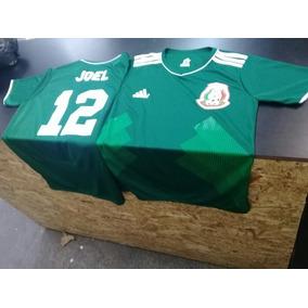 Playera Genérica Fútbol Soccer Número Logo Y Nombre. Puebla · Playera  Selección Mexicana Con Tu Nombre fc5f417d240ed