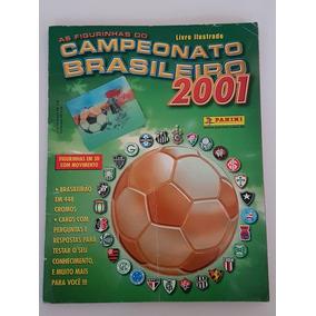 Album De Figurinhas Campeonato Brasileiro 2001