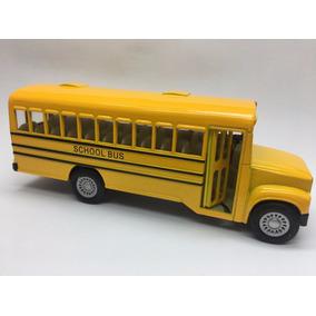 Miniatura De Metal Ônibus Escolar