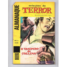 Hq Almanaque Seleçoes De Terror Nº 5-a - Anos 70 Ed. Taika