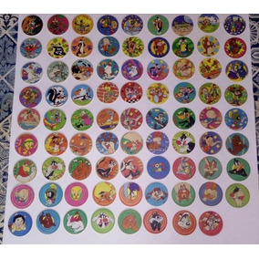 Coleção Completa De Tazos Looney Tunes - 80 Tazos