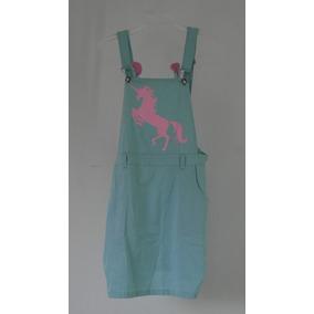Vestido Overol Unicornio