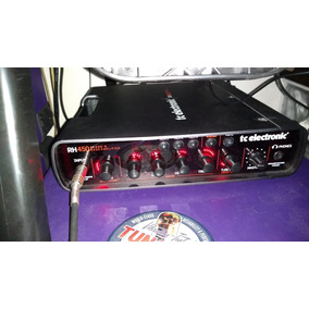 Amplificador Cabeçote Baixo Rh 450 Com Foot Rc 4