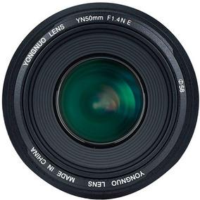Lente Yongnuo Yn 50mm F / Lens 1.4ne Para Nikon F