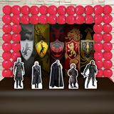Kit Festa Aniversário Game Of Thrones Decoração Kit Ouro