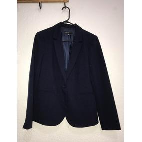 Saco Azul Marino Seminuevo La Mode Talla 30