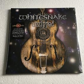 Whitesnake Lp Unzipped Vinil Pronta Entrega 2018 2-lps
