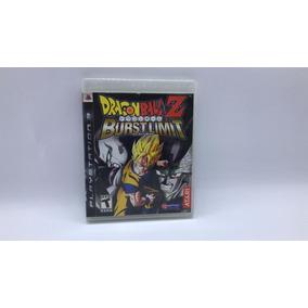 Dragon Ball Z Burst Limit - Ps3 - Midia Fisica Cd Original