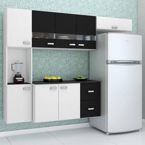 Armário De Cozinha Compacta Com Balcão Júlia Poquema