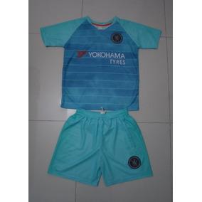 Conjunto Para Equpios De Futbol Del Chelsea 3er Uniforme b0fd9a9620b35