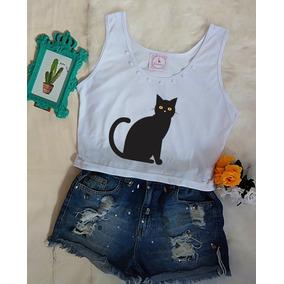Roupa Feminina Moda Tumblr Blusa Regata Cropped Barato!!!