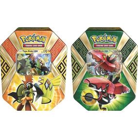 Jogos De Cartas Pokemon Lata Gx Guardioes Ilha Copag Unidade