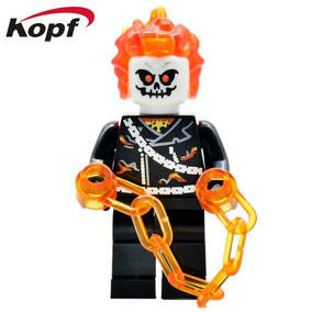 Figura Compatible Con Lego De Ghostrider