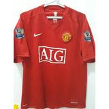 Camisa Manchester United #5 Ferdinand Original Clásica
