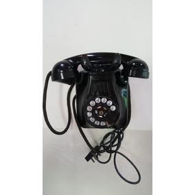 Telefone Antigo De Baquelite De Parede (only Wood)