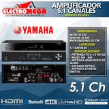 Amplificador Receptor Av Yamaha 5.1 Ch Ulta Hd 4k Rx-v383