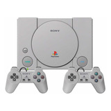 Play Station Classic Ps 1 Con 2 Controles Y Juegos Original