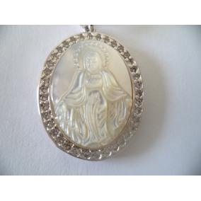 080bdc5a76422 Pingente N.senhora De Guadalupe Madrepérola - Joias e Relógios no ...