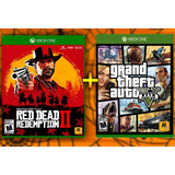 Red Dead Redemption 2 Y Gta 5 Grand Theft Auto V | Xbox One