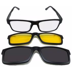 Night Drive Clip On Armacoes - Óculos no Mercado Livre Brasil c39d7c722e