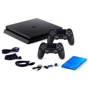 Playstation 4 1tb Ps4 Edition Bivolt 2 Controles+nota Fiscal