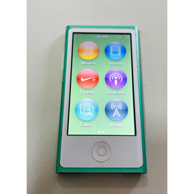 Ipod Nano 7 16gb - Apple Cor Verde