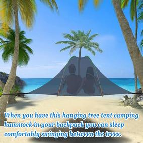 Hamaca Portable Camping Con Tienda De Árbol Mosquitero -5532