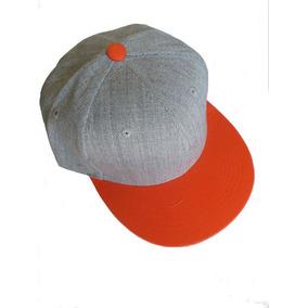 6842a782279e7 Gorra Snapback Visera Plana Lisa Skate Rap Hip Hop