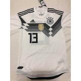 Camisa Alemanha 2018 De Jogo  13 Müller Tamanho P Peça Única 2fcd5f20971f0