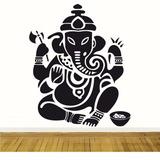 Vinilo Decorativo Buda Elefante