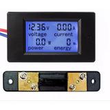 Voltímetro Amperímetro Wattímetro Dc 4x1 100v/100a+shunt100a
