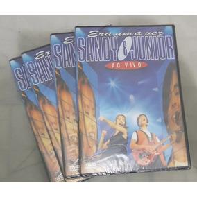 Dvd Sandy E Júnior Era Uma Vez Ao Vivo Lacrado Frete R$12,00