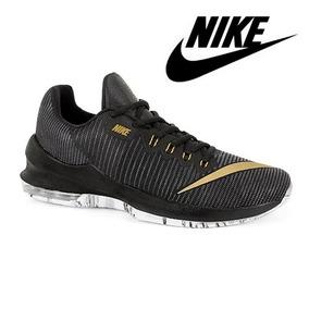 new products de28d 2c0b5 Tenis Nike Caballero Negro - Dorado Tallas 25-30 Mod.567726