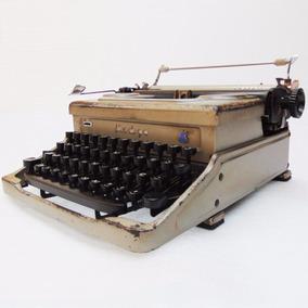 Máquina Datilografia Everest Italy Escrever Antigo Decoração