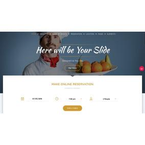 Tema Wordpress Para Restaurantes - 2018