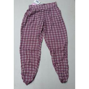 Pantalon S X Y - J N S Modelo Canesu Color Lila.