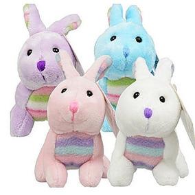 8373ab5a733e Conejos De Pascua Set De 4 Conejitos Súper Suave De Felpa 6