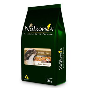 Ração Nutrópica Seleção Natural Para Trinca Ferro 5kg