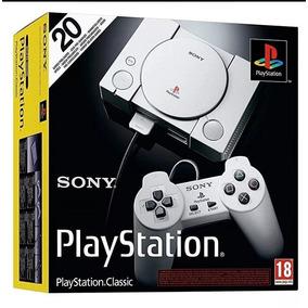Playstation Classic Com 20 Jogos Na Memoria Novo Lacrado