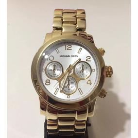Relogio Mk Fundo Branco - Relógios De Pulso no Mercado Livre Brasil 038255533c