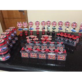 Kit Lembrancinhas Personalizadas Carros Disney, 170 Peças