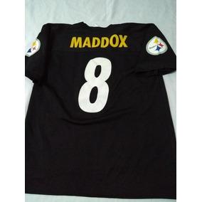 5d65829a6 Jersey De Los Steelers Pittsburgh Talla L Maddox (nfl