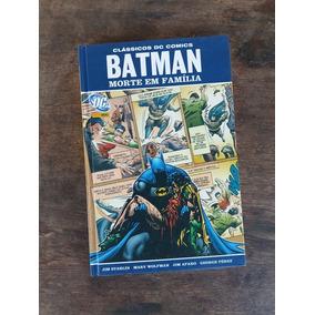 Batman Morte Em Família Classicos Dc Comics
