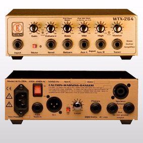 Cabezal Para Bajo - Eden Wtx264 - 264 Watts Rms