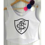 Blusa Cropped Botafogo Feminina Regata Camiseta Futebol 2018 37df6a4f83a2a