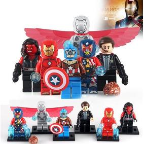 Capitão América Uniforme De Piloto Iron Man Adaptoide (asas)