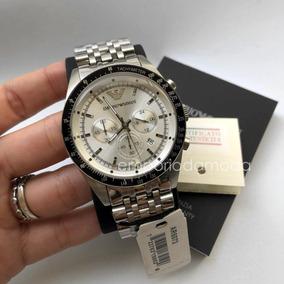 Relogio Armani Prata Original - Relógios De Pulso no Mercado Livre ... 377d84886b